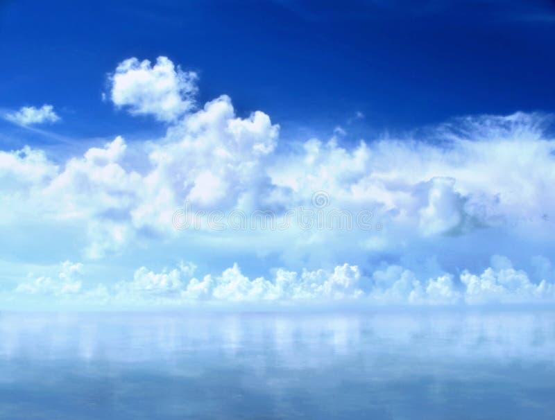 西方关键的天空 库存图片