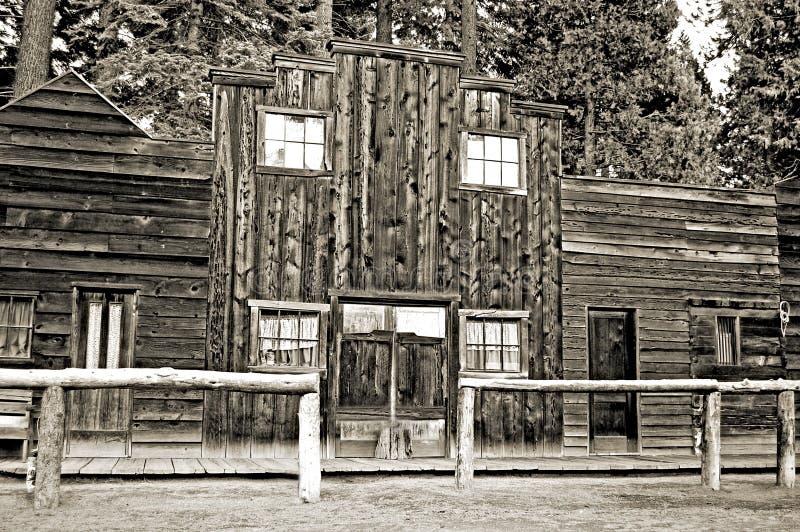 西方老的存储 库存图片