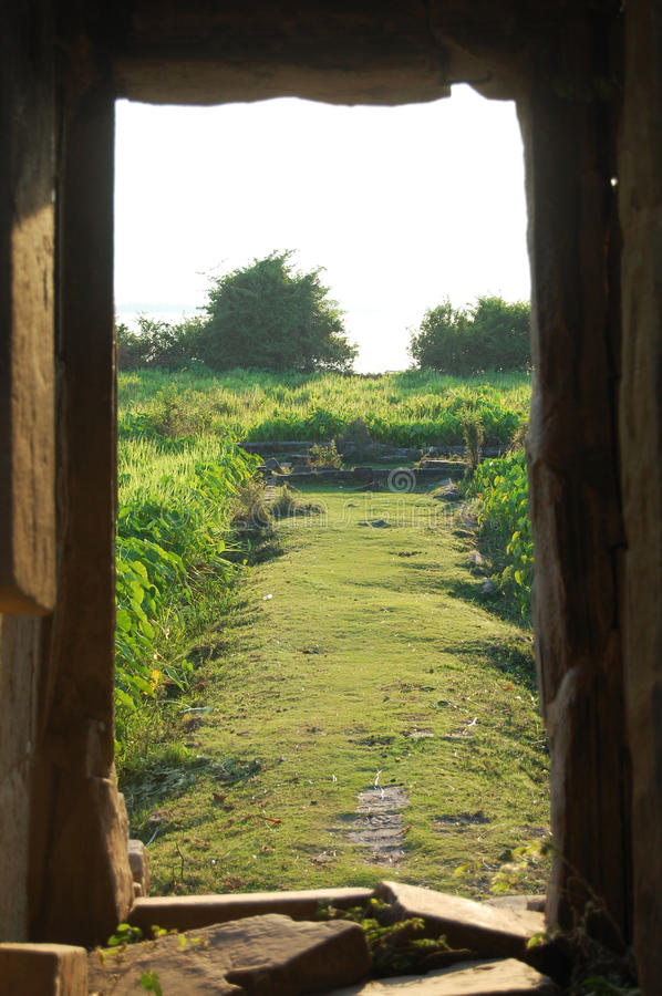 西方Baray (高棉:Baray Teuk Thla) 免版税库存照片