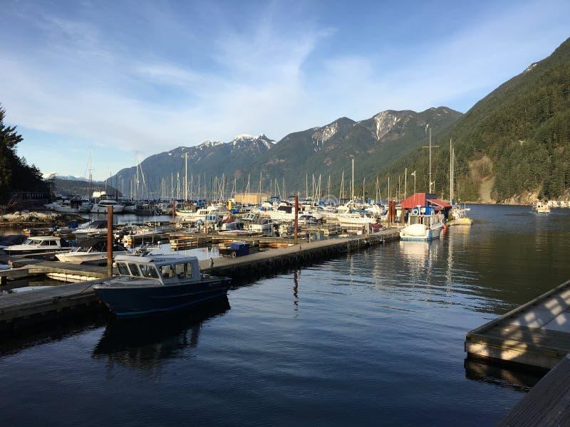 西温哥华,不列颠哥伦比亚省,加拿大 库存图片