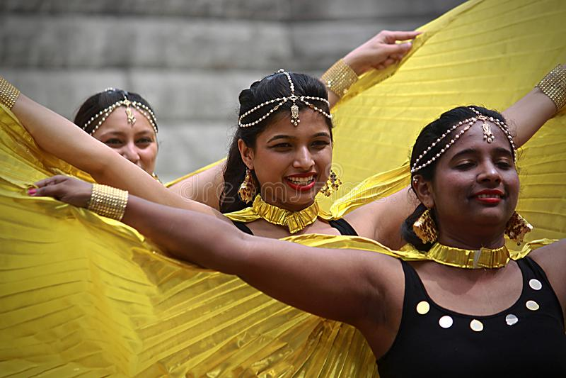 西班牙人舞蹈- 13 图库摄影
