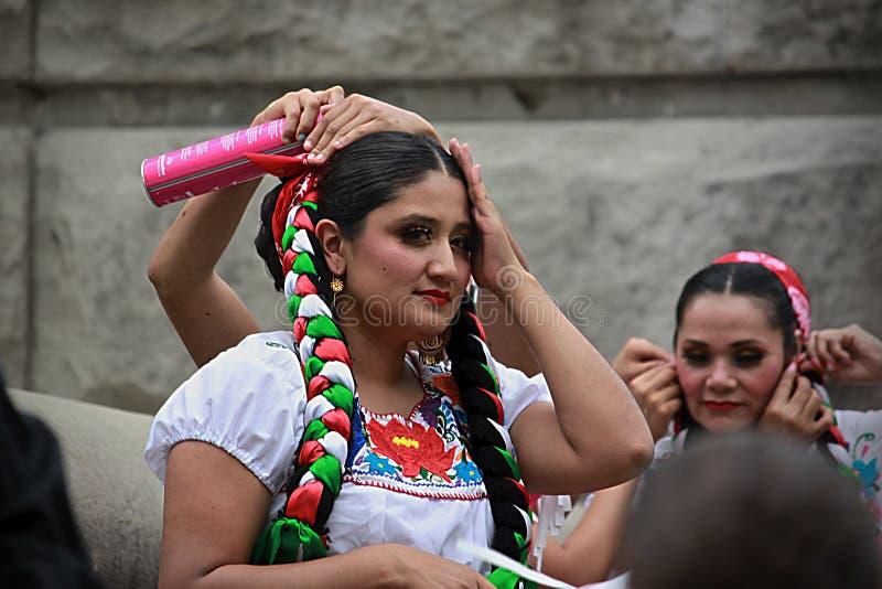 西班牙人舞蹈- 6 免版税库存照片
