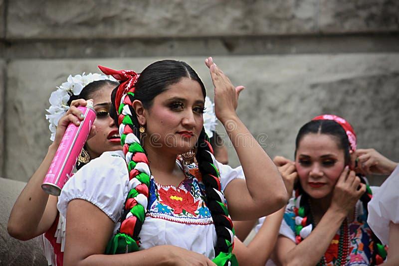 西班牙人舞蹈- 5 免版税库存照片