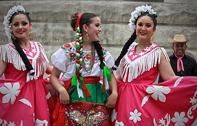 西班牙人舞蹈- 2 库存照片