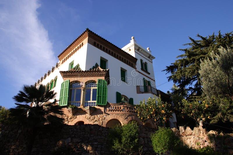 西班牙别墅 库存照片
