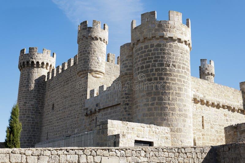 西班牙城堡 库存图片