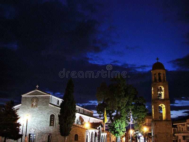 西班牙夜 库存照片