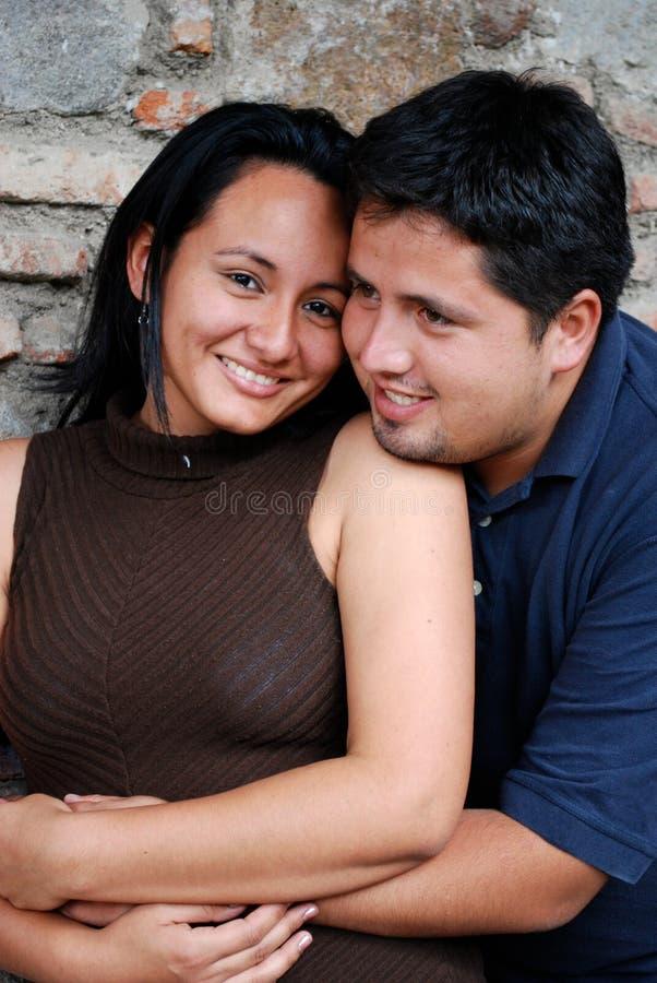 西班牙夫妇 免版税库存照片