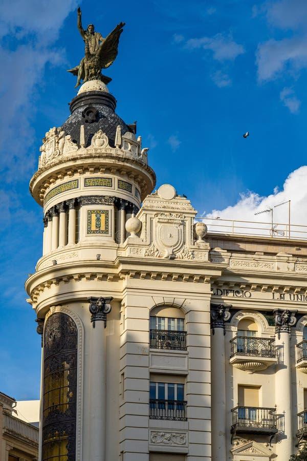 西班牙安达卢西亚科尔多瓦的Plaza de las Tendillas主广场 图库摄影