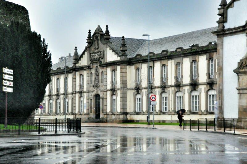 西班牙宫殿 库存图片