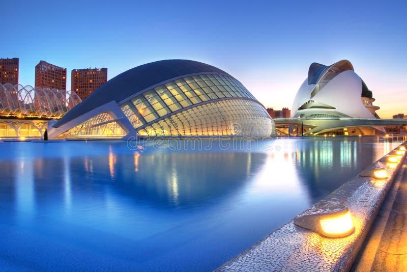 西班牙巴伦西亚 免版税库存照片