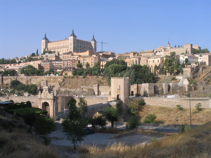 西班牙托莱多 图库摄影