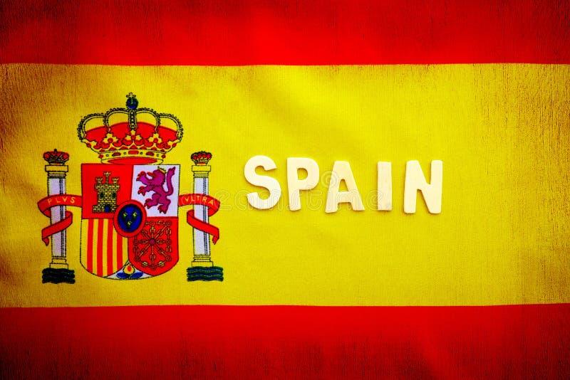 西班牙标志 皇族释放例证