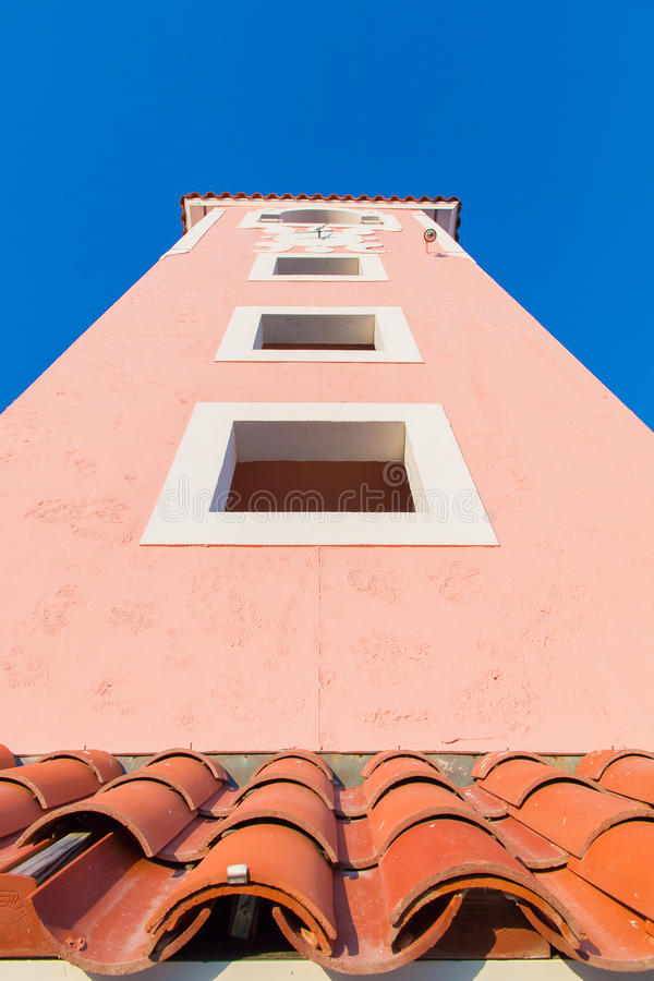 西班牙样式塔在佛罗里达 免版税库存图片