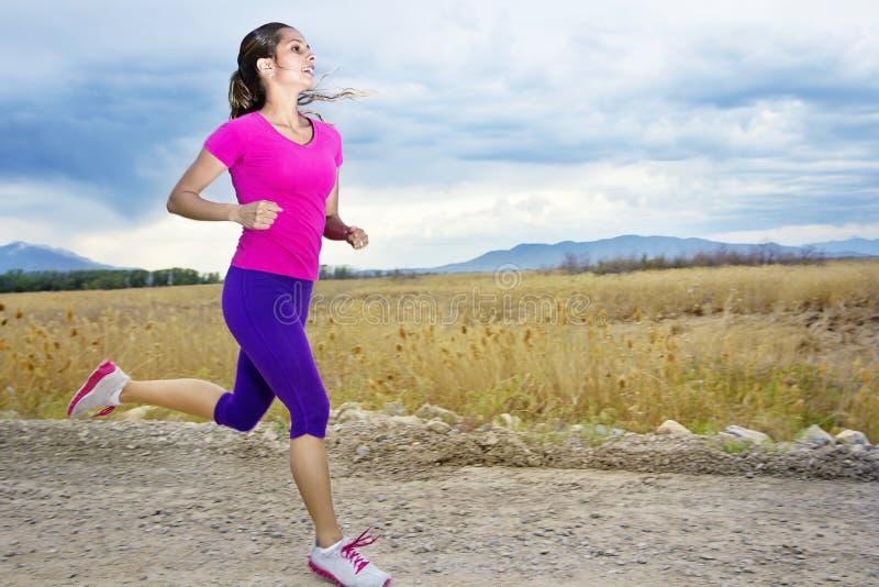 西班牙母赛跑者 免版税库存图片
