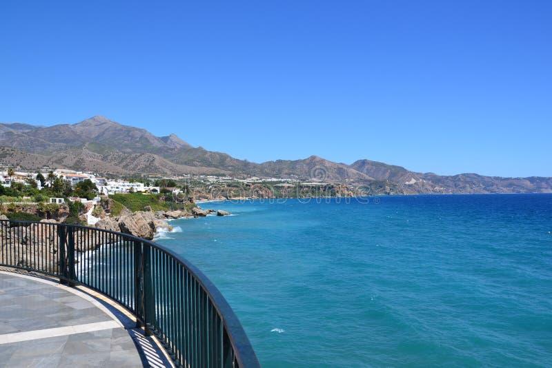 西班牙海岸 库存图片