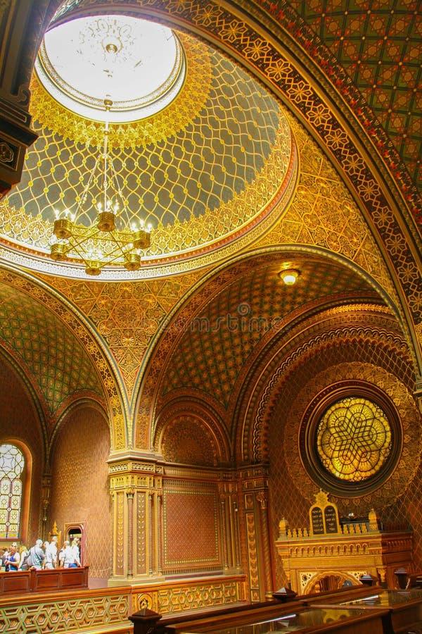 西班牙犹太教堂 免版税图库摄影