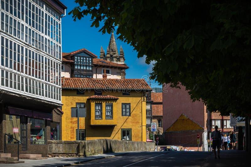 西班牙的中心历史城市 免版税库存图片