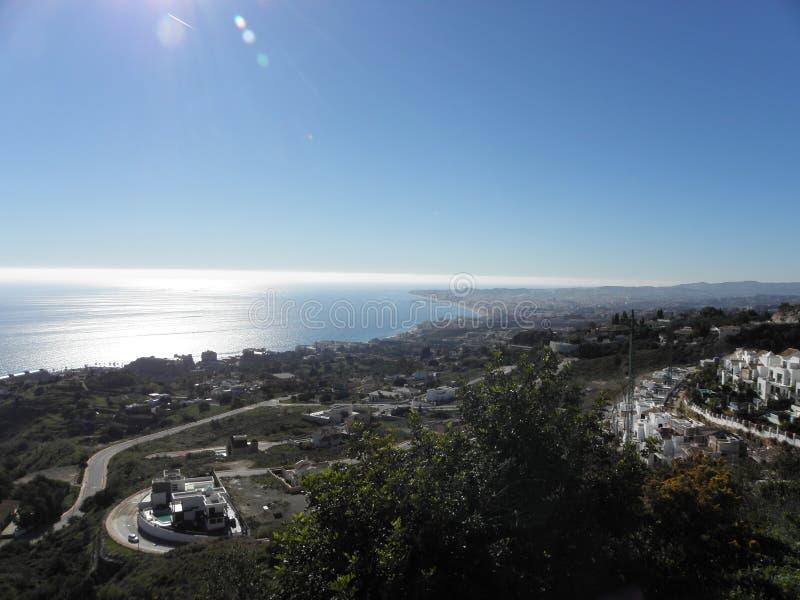 西班牙的南海岸 库存照片