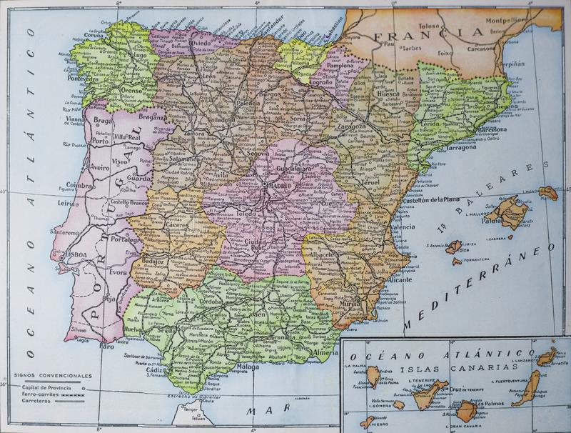 西班牙的葡萄酒后勤情况图 从书Enciclopedia用西班牙语写的Autodidactica的图片由达尔毛卡莱斯,出版了 免版税图库摄影