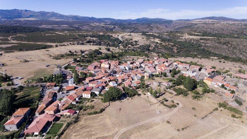 西班牙的镇 库存照片