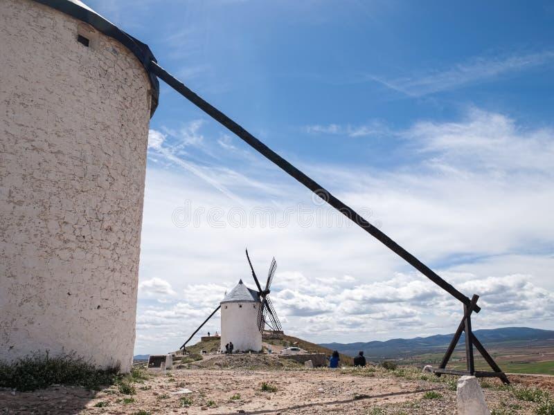 西班牙磨房 免版税图库摄影