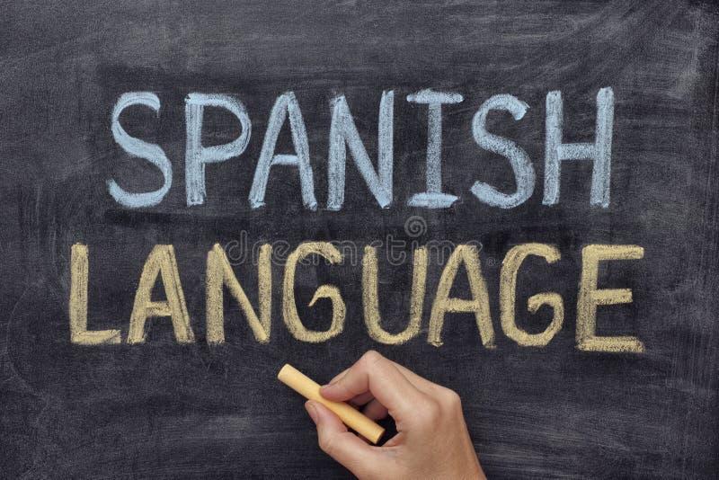 西班牙语 免版税库存照片