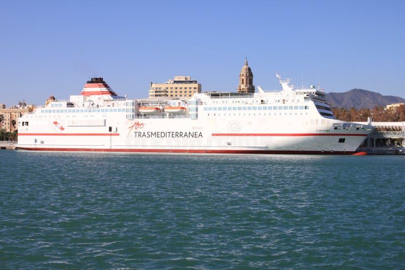 西班牙轮渡 库存图片