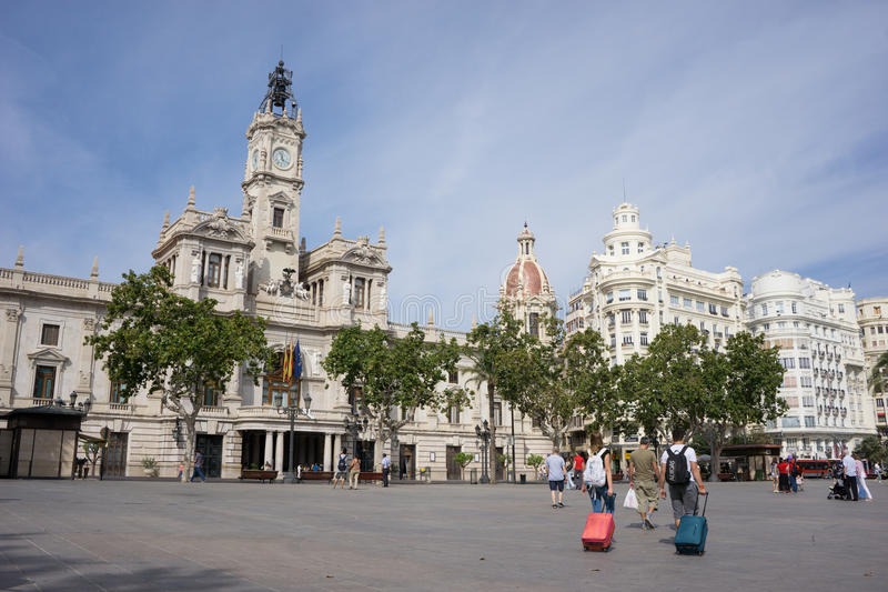 西班牙巴伦西亚 库存图片