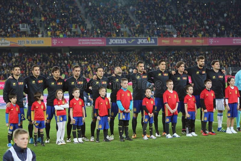 西班牙-国家橄榄球队 免版税库存照片