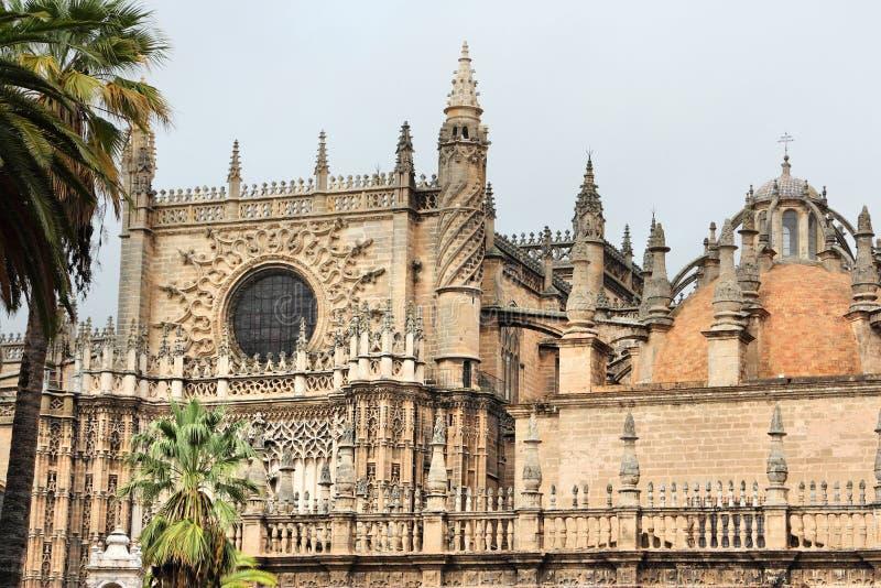 西班牙-塞维利亚大教堂 库存照片
