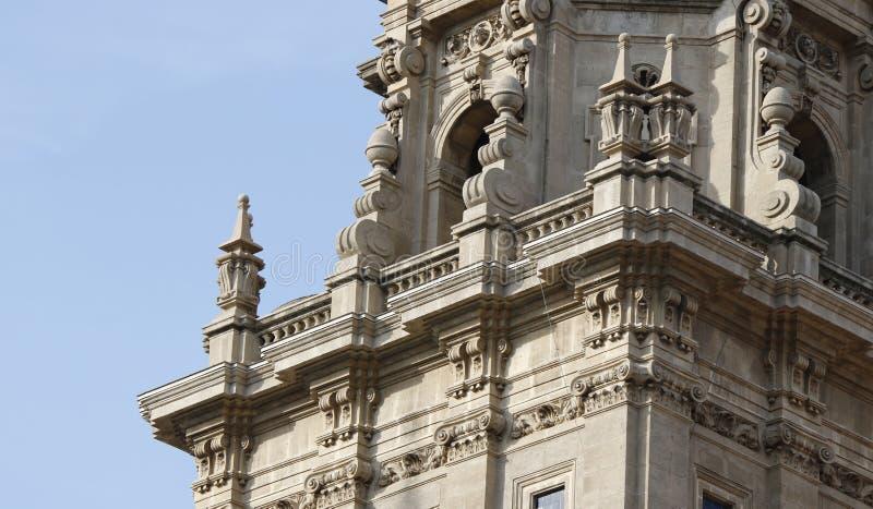 西班牙建筑学元素 图库摄影