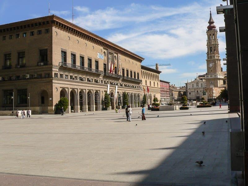 西班牙 萨瓦格萨 库存照片