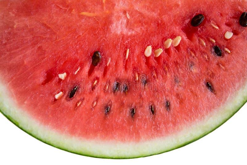 西瓜是甜果子 免版税库存图片