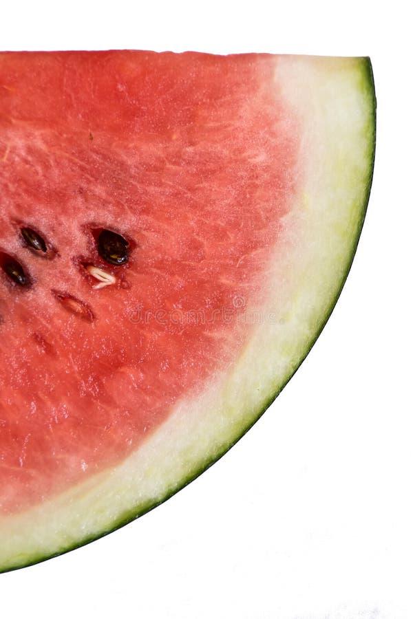 西瓜是甜果子 免版税库存照片