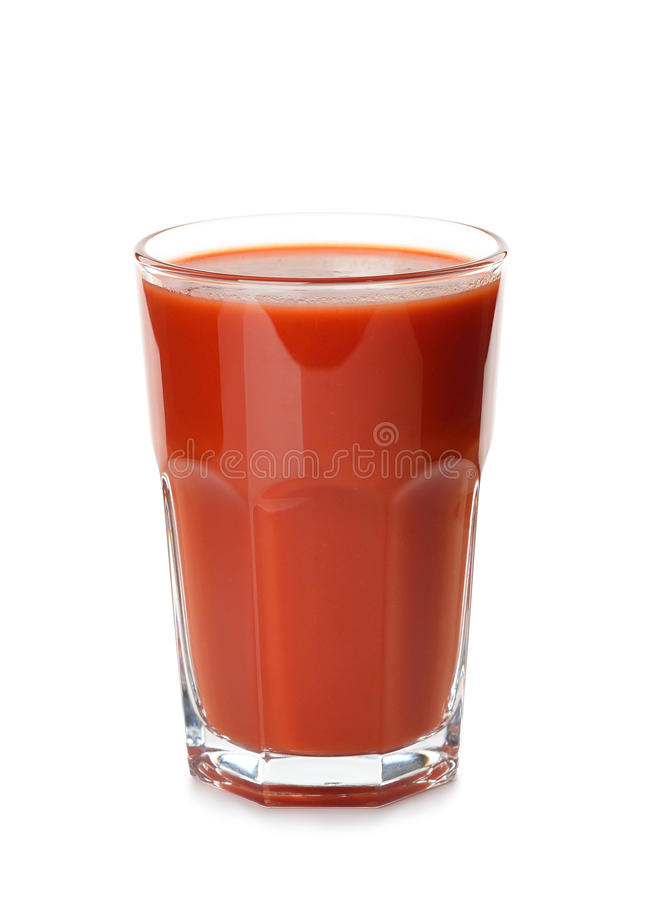 西红柿汁 图库摄影
