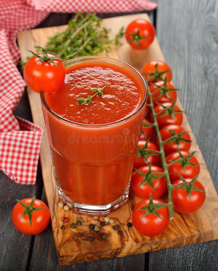 西红柿汁 免版税库存图片