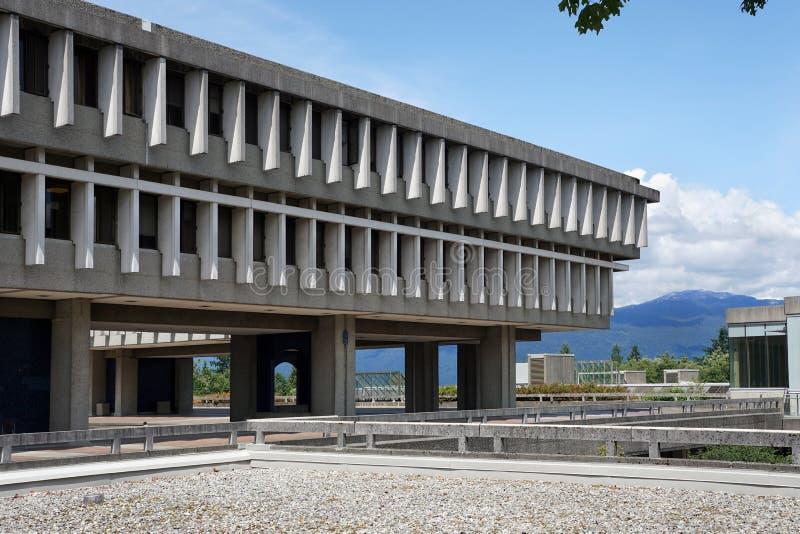 西蒙费沙尔大学 库存照片