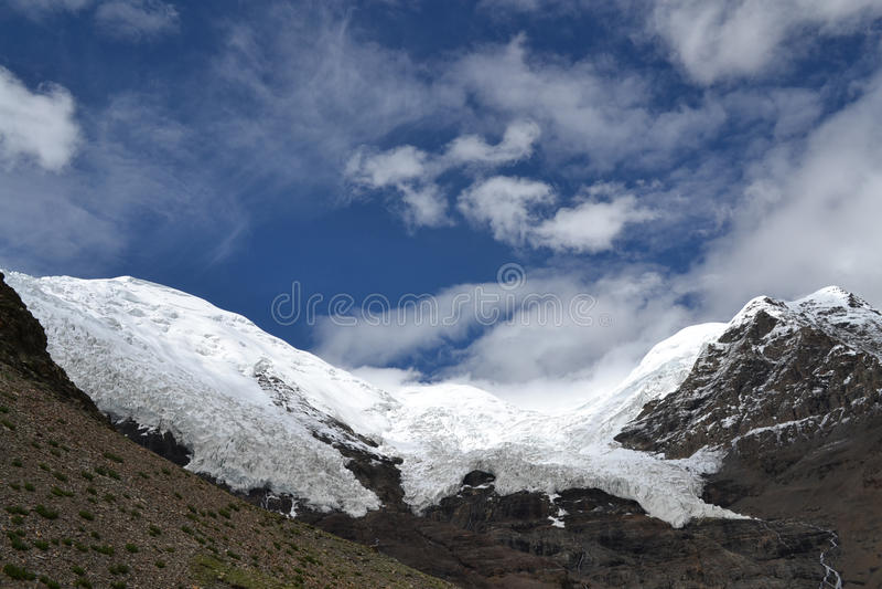 西藏天空 库存图片
