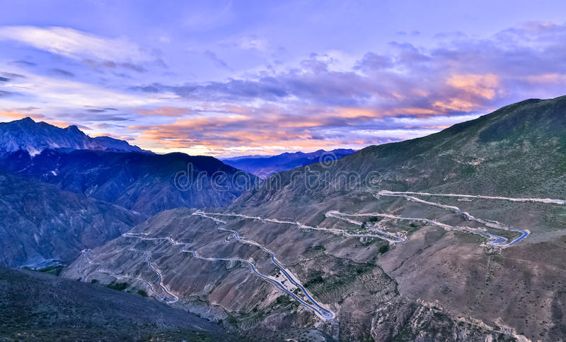 西藏风景 免版税库存图片