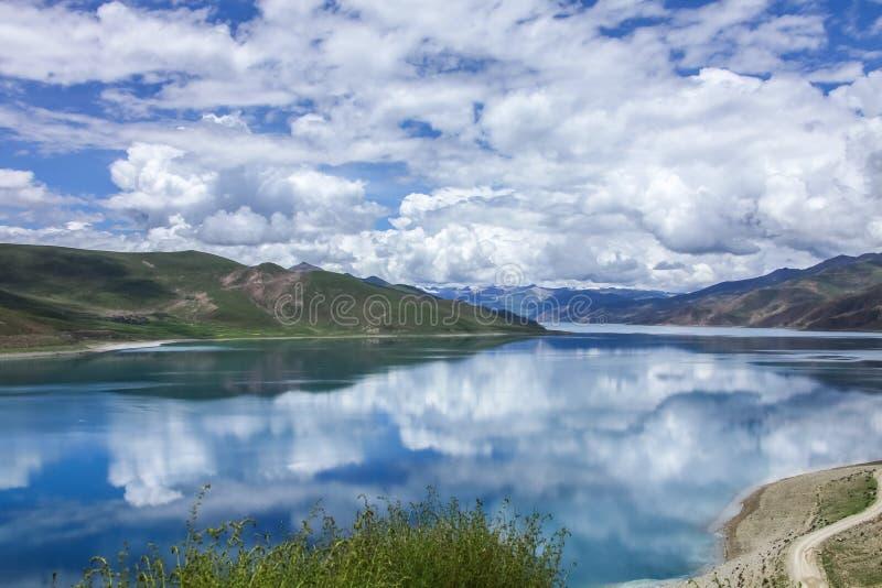 西藏风景 库存图片