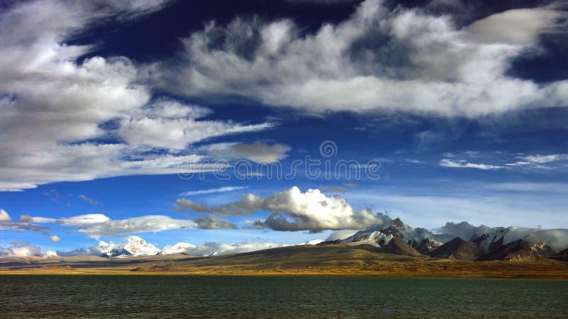 西藏高原 免版税库存图片