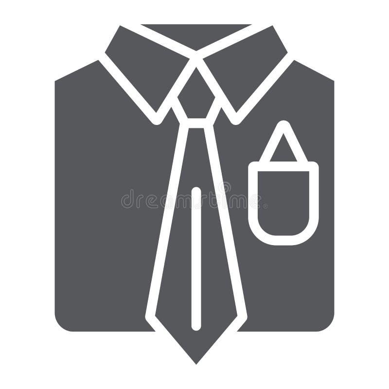 西装纵的沟纹象、男性和服装,人衣服标志,向量图形,在白色背景的一个坚实样式 向量例证