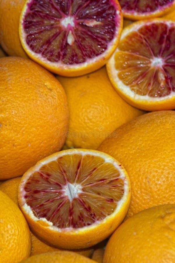 西西里人的桔子 免版税库存照片