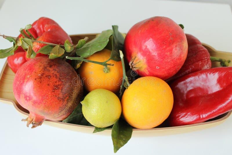 西西里岛的秋天果子 库存图片
