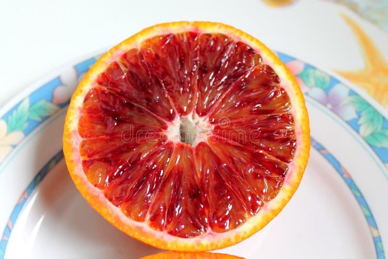 西西里岛-意大利的柑橘水果 库存图片