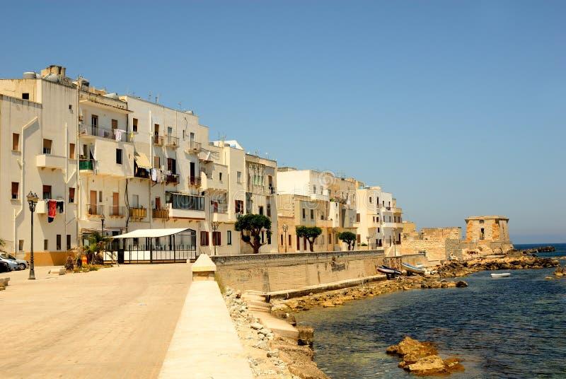 西西里岛trapani 免版税库存图片