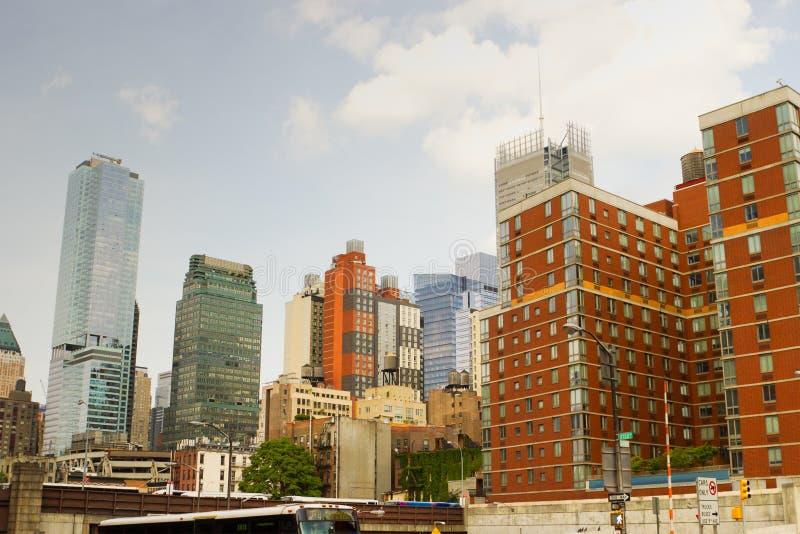 西边,纽约 免版税库存图片