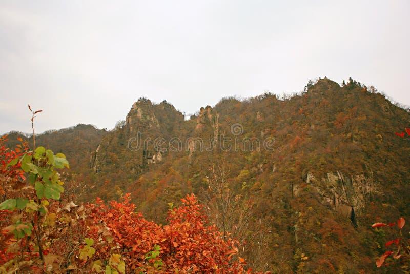 西部台山,汝阳 库存图片