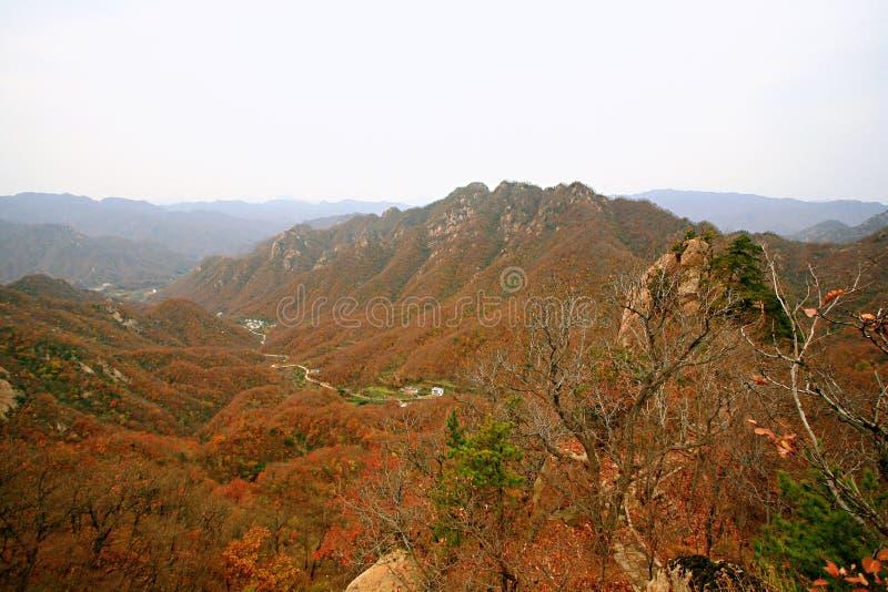 西部台山,汝阳 免版税库存图片